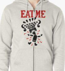 Eat me Zipped Hoodie