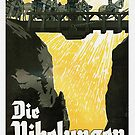 Die Nibelungen.. German vintage1924 movie poster by edsimoneit