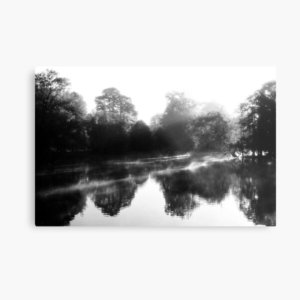 AM Light Show - Spring Grove Cemetery Metal Print