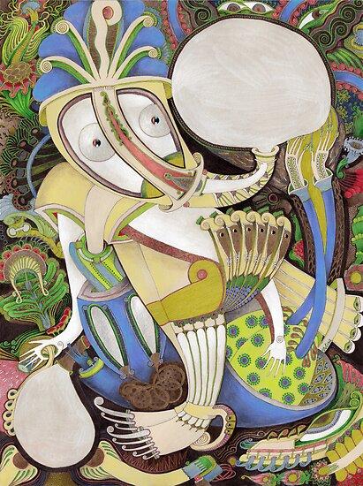 Fragrant Breath by Yuliya Art
