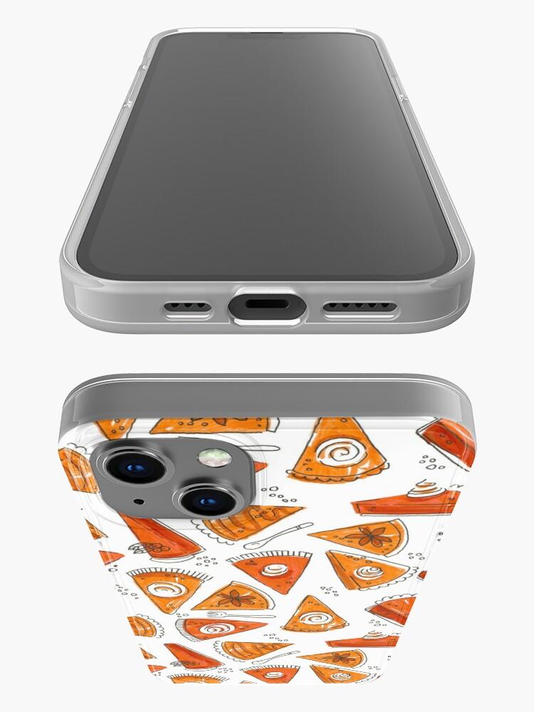 Alternate view of Watercolor Pumpkin Pie Pattern iPhone Case