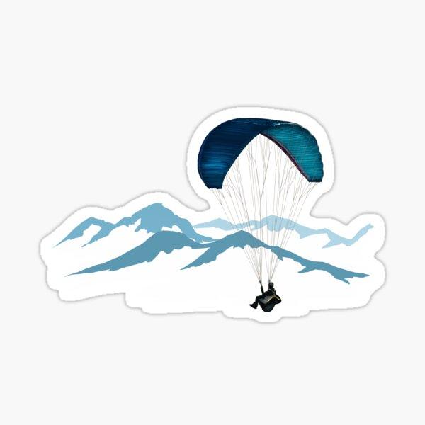 paraglider Sticker
