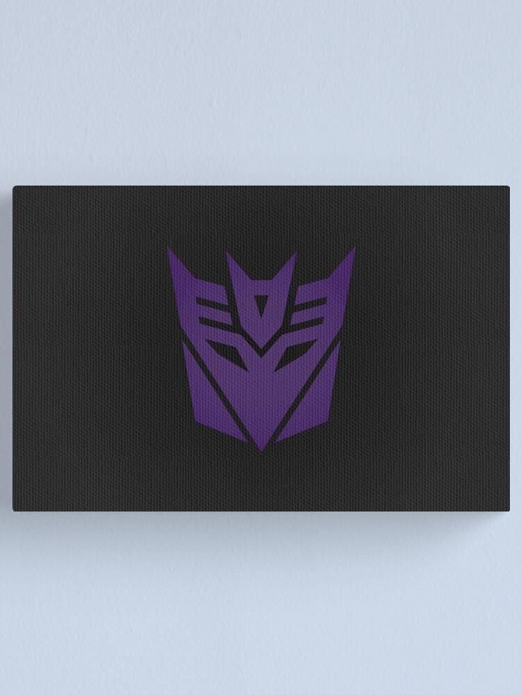 Alternate view of Decepticons Logo Canvas Print