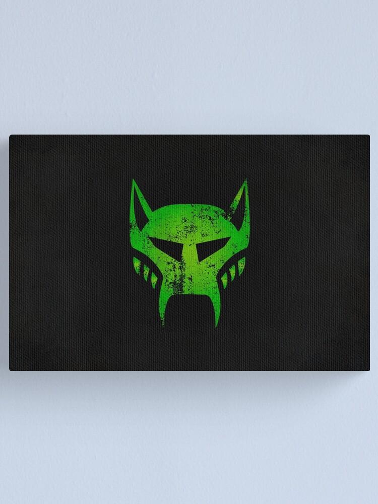 Alternate view of Maximals Logo · Distressed Canvas Print