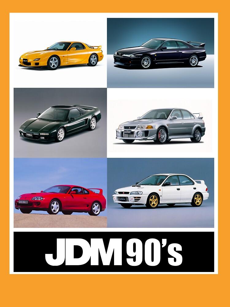 JDM 1990 by carsaddiction