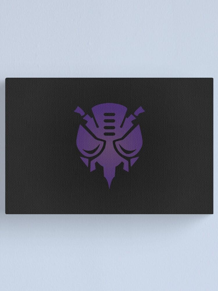 Alternate view of Predacons Logo Canvas Print