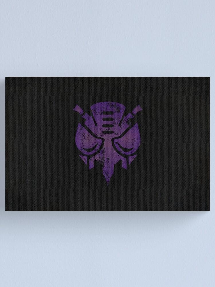 Alternate view of Predacons Logo · Distressed Canvas Print