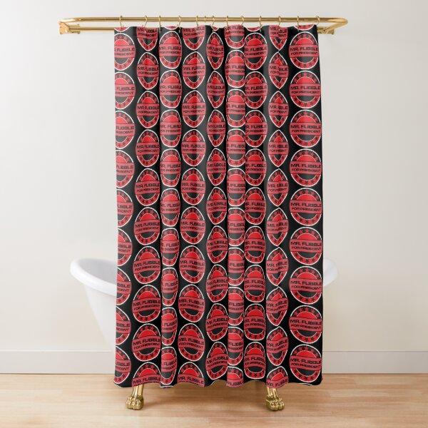 Mr Flibble For President Shower Curtain