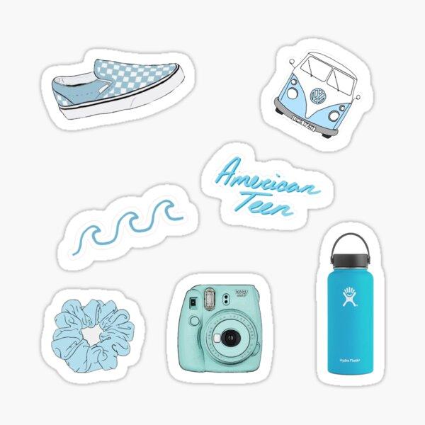 blue VSCO sticker pack  Sticker