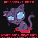 Dead Cold Angry Zombie Kitty by fizzgig