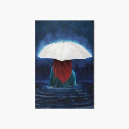 When It Rains Art Board Print