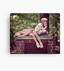 Had Enough! Canvas Print