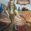 Steampunk Rocket by DarkRubyMoon