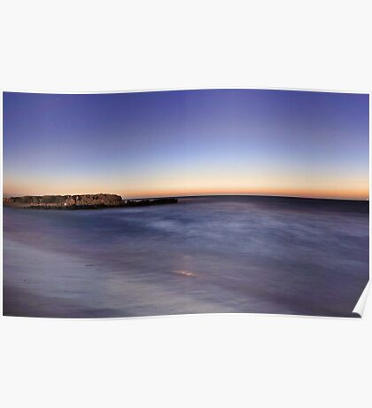 Trigg Beach At Dusk  Poster