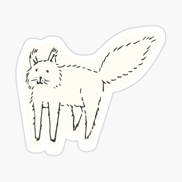Goof Cat Sticker