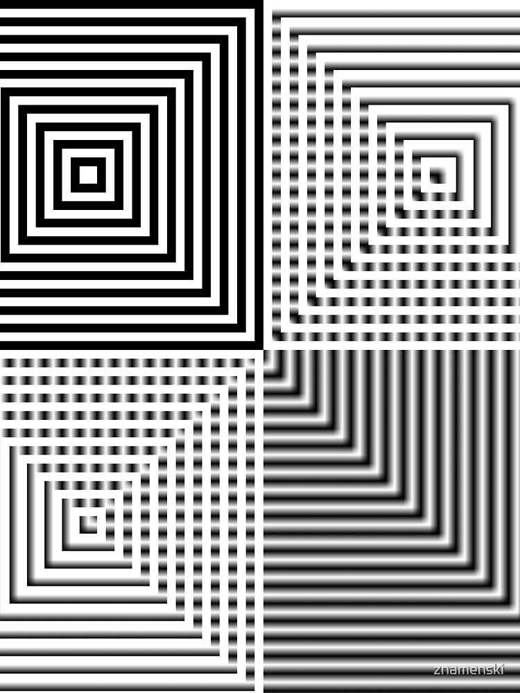 #Abstract, #square, #puzzle, #illustration, shape, art, horizontal, gray by znamenski