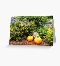 Abundant Garden Greeting Card