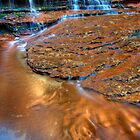 Copper Waters, Left Fork of the North Creek, Zion by Clayhaus