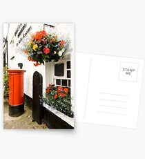 Letter box Hawkshead  Postcards