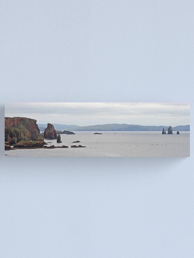 Alternate view of Eshaness panorama Canvas Print