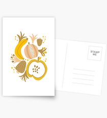Fruity Fruit Design and Artwork Postcards