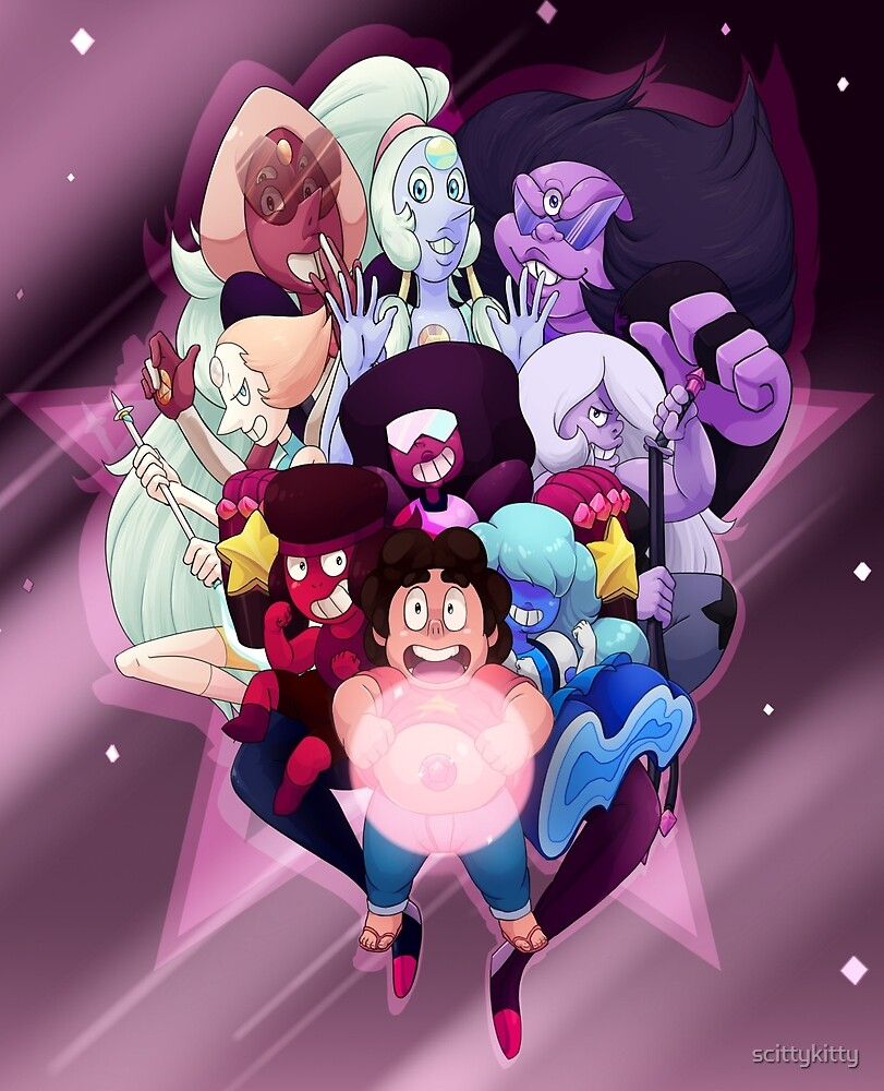 I'm a Crystal Gem Too! by scittykitty