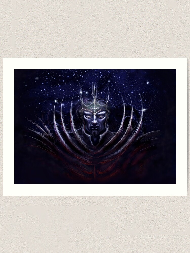 Alternate view of Dark Lord Art Print