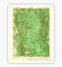 Massachusetts  USGS Historical Topo Map MA Shutesbury 352172 1943 31680 Sticker