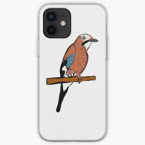 Eurasian Jay - bird - animal - beautiful bird iPhone Soft Case