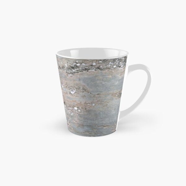 Shell Laden Cement Tall Mug