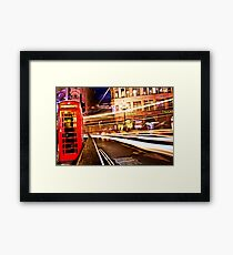 London Telephone Framed Print