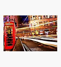 London Telephone Photographic Print