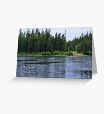 September Rain HDR Greeting Card