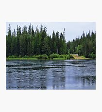 September Rain HDR Photographic Print