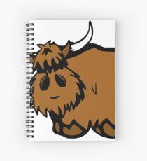 Heilan' Coo Spiral Notebook