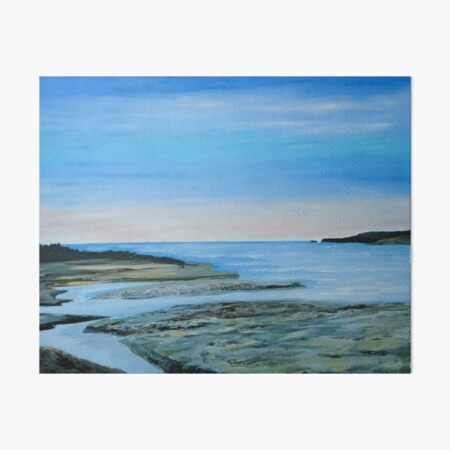 Poppit Sands - Cardigan Bay Art Board Print