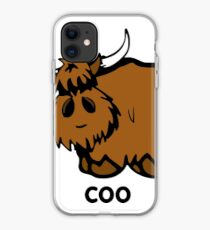 Heilan' Coo - with text iPhone Case