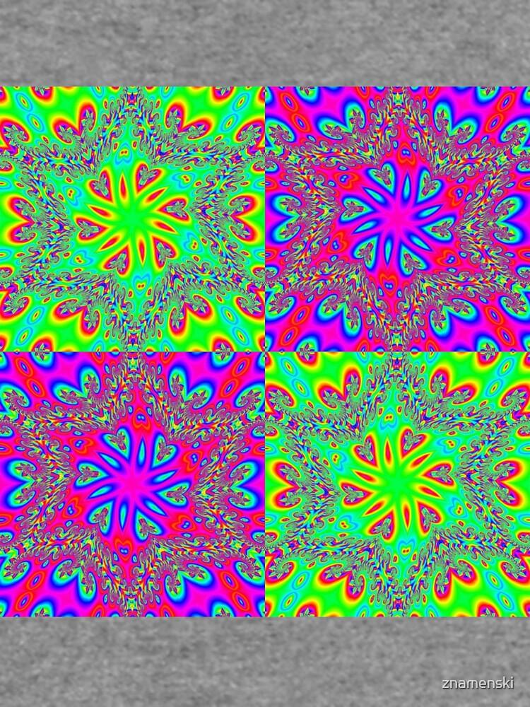 #Abstract, #pattern, #design, #rainbow, ornate, shape, textile by znamenski