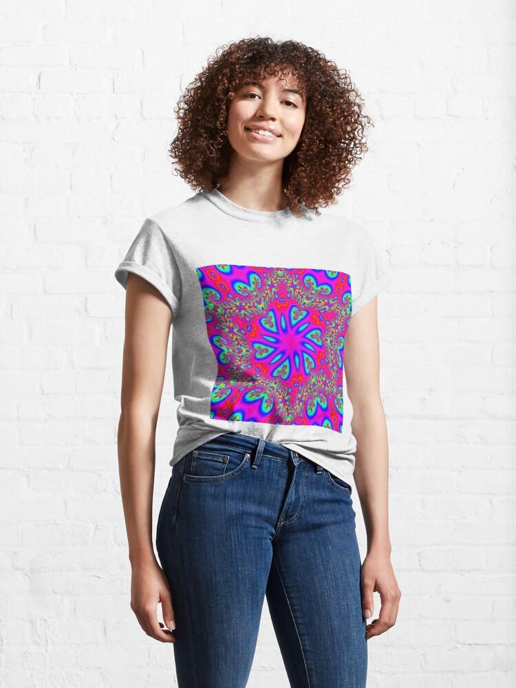 Alternate view of #Design, #twist, #art, #illustration, decoration, shape, creativity, upwards, convex, curvy Classic T-Shirt