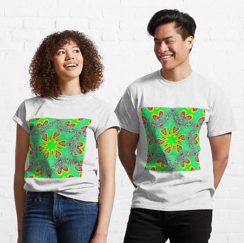 #Abstract, #design, #twist, #art, illustration, decoration, shape, creativity, upwards, convex, curvy Classic T-Shirt