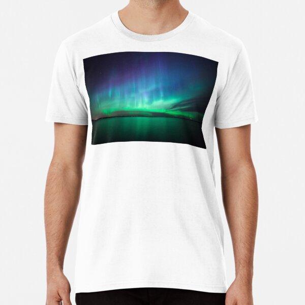 Beautiful northern lights Premium T-Shirt