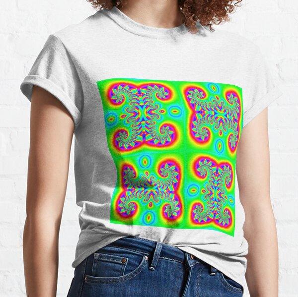 #Art, #illustration, #decoration, #shape, creativity, upwards, convex, curvy Classic T-Shirt