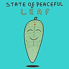 State of Peaceful Leaf by Nitin  Kapoor