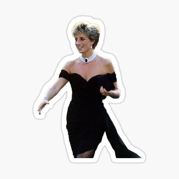 """Princess Diana """"The Revenge Dress"""" Sticker"""