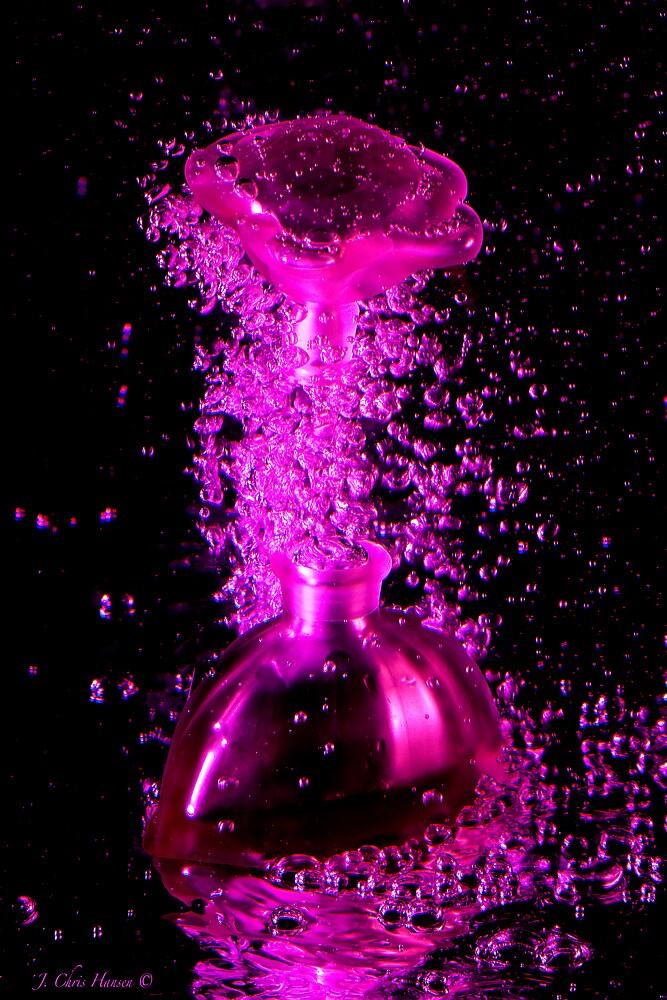 Chartreuse Perfume Bottle by J Chris  Hansen