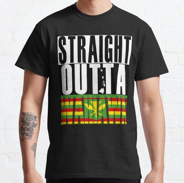Straight Outta Wahiawa Kanaka Maoli by Hawaii Nei All Day Classic T-Shirt
