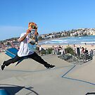 Bondi Skate Park by Mick Duck