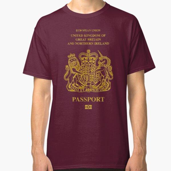 NDVH EU UK Passport Classic T-Shirt