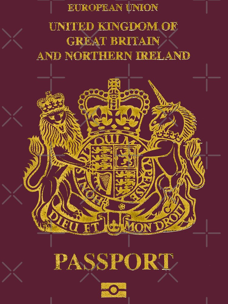 NDVH EU UK Passport by nikhorne