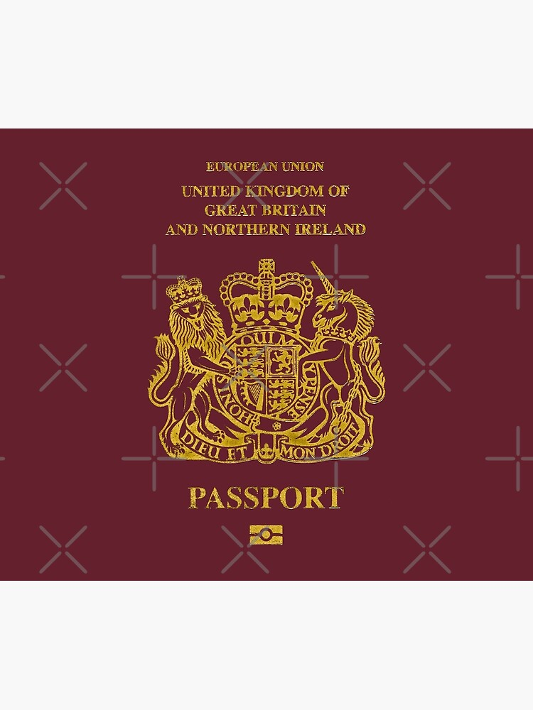 NDVH EU UK Passport by nikhorne